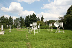 Weather-Station Stock Photography