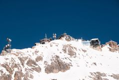 Weather Station in the Zugspitze, Germany Stock Photography