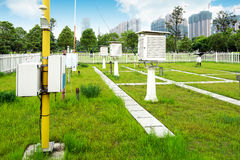 Weather Stations Royalty Free Stock Photos