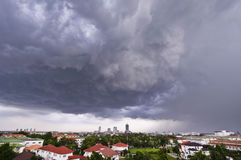 Weather Before strom Royalty Free Stock Photography