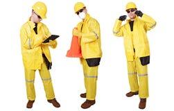 Weather Suit Contractors Stock Images