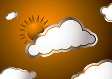 Weather sun Royalty Free Stock Photography