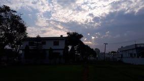 weather sunset royalty free stock image