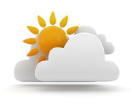 Weather symbol Royalty Free Stock Images
