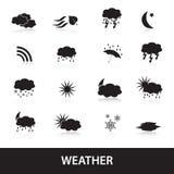 Weather symbols eps10 Stock Photography