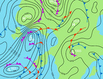Weather system Stock Images