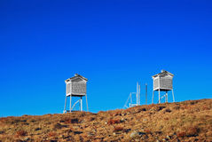 Weather towers Stock Images
