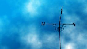 Weather Vane Change Loop stock footage
