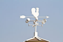 Weather vane - cockerel which reflected Royalty Free Stock Image
