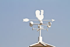 Weather vane - cockerel which reflected sun Stock Photography