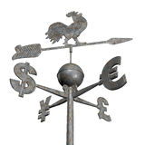 Weather-vane of currencies Royalty Free Stock Photography