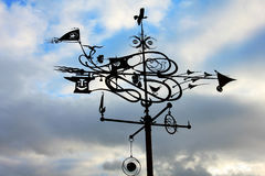 The weather vane. Stock Images