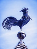 Weather vane. Old weather vane at a farm stock images