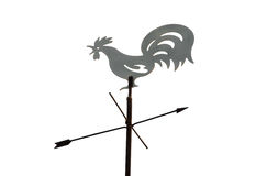 Weather Vane. On a white background. It is isolated Stock Photo