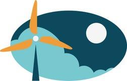 Weather Vane - Wind Energy Royalty Free Stock Image