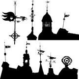 Weather vanes Royalty Free Stock Photography