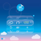 Weather Widget Stock Photography