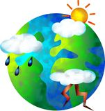 Weather world Stock Photo