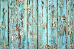 Weather worn. Old weather beaten wooden door detail Stock Photo