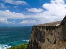 Weather worn bastions El Morro Royalty Free Stock Photos