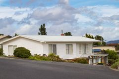 Weatherboard home Royalty Free Stock Image
