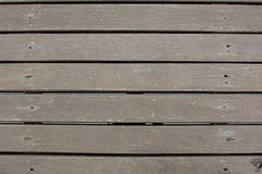 Weatherd木板条线安排样式textrue背景 黑暗的未经治疗的木头纹理  图库摄影