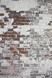 Weatherd brick wall Stock Image