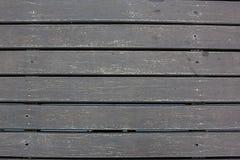 Weatherd lath drewniana linia układa deseniowego textrue tło Tekstura ciemny bez leczenia drewno Obrazy Royalty Free