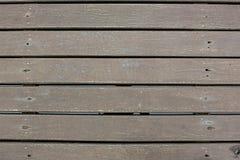Weatherd lath drewniana linia układa deseniowego textrue tło Tekstura ciemny bez leczenia drewno Fotografia Stock