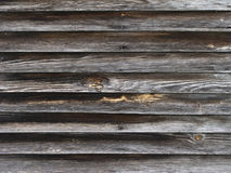 Weatherd wood siding Royalty Free Stock Images