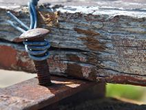 weathered fotografie stock