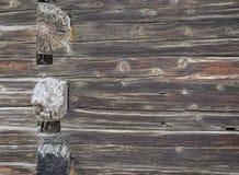 Weathered alterte hölzerne Wand Lizenzfreie Stockbilder