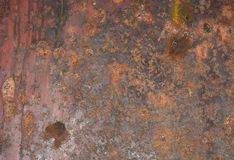 Free Weathered And Rusty Steel Texture Stock Photography - 168567662