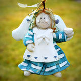 Weathered Angel Ornament Royalty Free Stock Photos