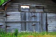Weathered Barn Stock Image