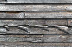 Weathered Barn Boards Royalty Free Stock Images
