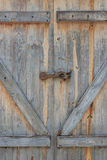 Weathered Barn Door Royalty Free Stock Images