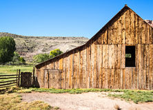 Weathered barn, Fruita, Utah Royalty Free Stock Image