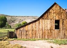 Weathered barn, Fruita, Utah Royalty Free Stock Image