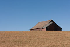 Weathered barn in Idaho Royalty Free Stock Image