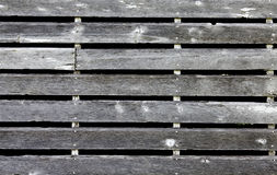Weathered barn siding Stock Image