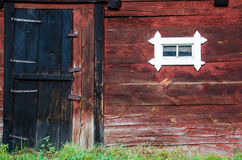 Weathered barn wall Stock Photography