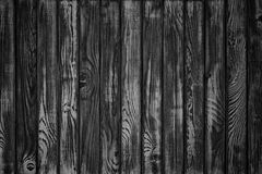 weathered barn wood background, Black and White color. Monochrome, dark wooden texture stock images