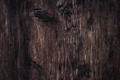 Weathered barn wood background with knots and nail holes / wood Royalty Free Stock Photos