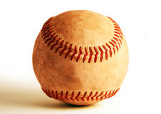 Weathered Baseball Royalty Free Stock Images