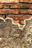 Alte Backsteinmauerbeschaffenheit. Lizenzfreie Stockbilder