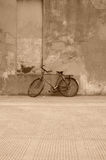 Weathered bicycle Royalty Free Stock Image