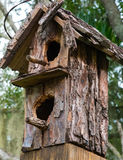 Weathered Bird House Royalty Free Stock Photos