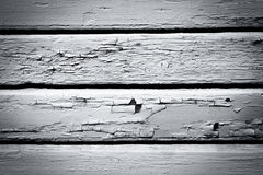 Weathered black and white wood wall background royalty free stock photos
