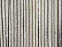 Weathered, bleached gangplank background Royalty Free Stock Image